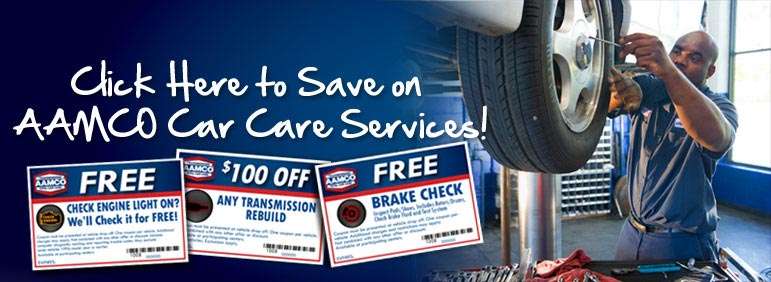 Click here to learn about our transmission repair and auto repair specials